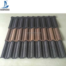SGB Steel Metal Roof Tiles / Stone Coated Roof / Stone Coated Metal Roofing Panels