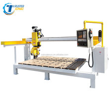 Automatic saw cutting 4axis cnc stone granite marble cutting machine