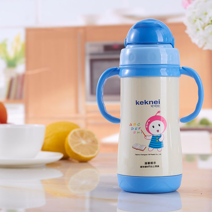 2017 eco friendly drinking water bottle for kids Baby teether BPA free