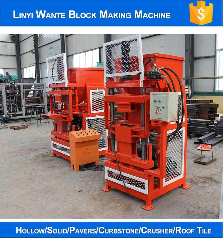 Interlocking Compressed Earth Block Machine : Wt automatic hydraulic eco interlocking compressed