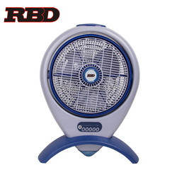 Home appliances 14inch Electric Box Fan with Remote Control with 7.5 hour timer ABS Body with CE CB GS ROHS