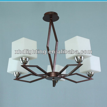 modern pendant lamp glass chandelier light indoor glass lamps