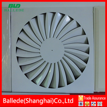 HVAC Pollution-proof plate type round diffuser for ventilation