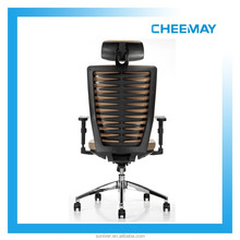 Luxurious PU executive manager office chair with headrest