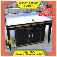 Marvelous top deal jewelry display cabinet ,showcase for sale