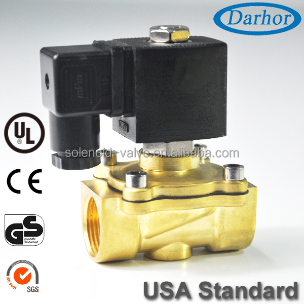 Made by Darhor tech solenoid valve for lpg gas