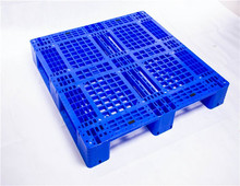 China Manufacturer 1200*1000 euro mesh three skid plastic pallet