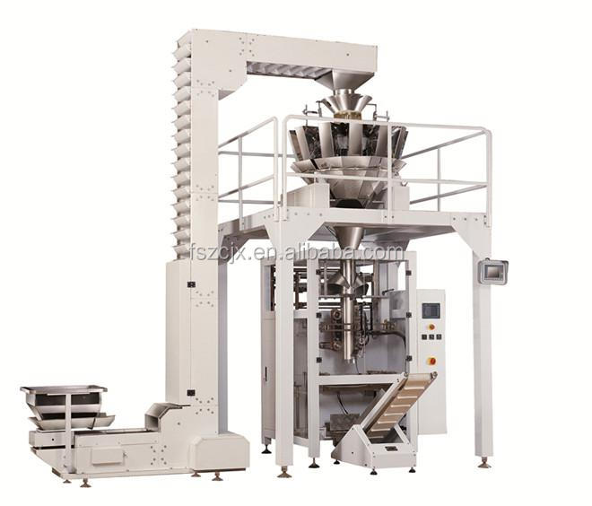 Automatic PLC Touch <strong>Screen</strong> Granule Packing Machine With Multihead weigher(Foshan)with CE