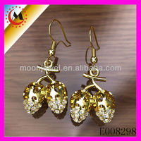 FASHIONABLE GOLD EAR TOPS DESIGNS FOR PARTY WHOLESALE IN ALIBABA
