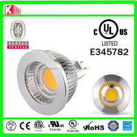 Aluminum 12V 5W Epistar 1COB Ra>80 GU5.3 COB MR16 LED Light