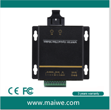 Industrial RS232/485/422 to single mode Fiber Modem 01
