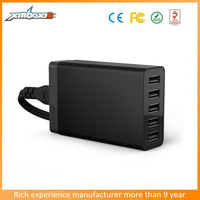 Hot Sale 5 Port USB Wall Charger For Smartphone/Tablet PC