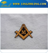 Manufacture High Quality Custom Masonic Patch Embroidery