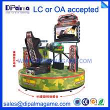 42 inch CANNONBALL RUN full motion chair coin operated arcade gun shooting game machine