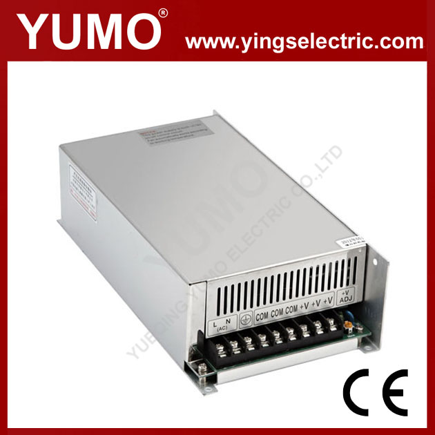 YUMO S-500 500W 12/24/48V Single output High efficiency power supply Switching Power Supply