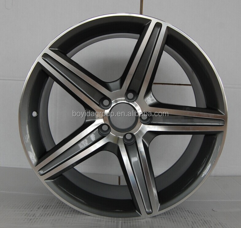 cheap car alloy wheels 5*112 5*120 5*114.3 PCD