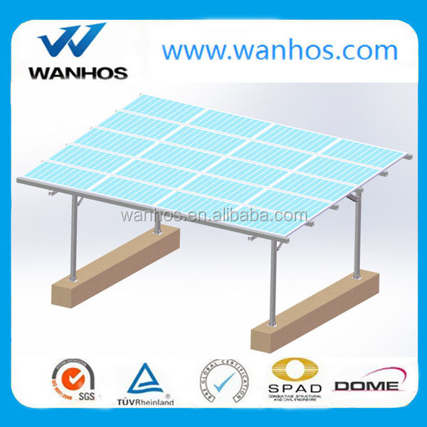 Solar PV Carport with Aluminum Frame, solar mounting solutions, carport canopies