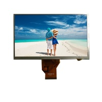 7 tft lcd 800x480 with resistive touch screen, 800 X 480 Dots Resolution