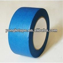 Bule Color Rubber/Solvent/Acrylic Crepe Paper Masking Tape