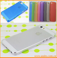 Factory price ultra thin 0.5mm PC case for iPhone 4 4s,in promotion now free shipping cost