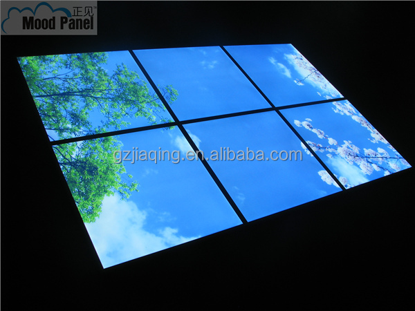 2014 600 600 mm artificielle puits de lumi re led for Puit de lumiere led
