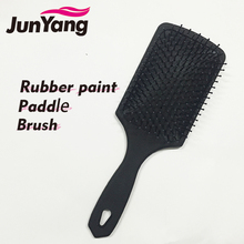2017 new Wholesale Rubber paint Cushion Paddle Hair <strong>Brush</strong>