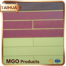 Tapered And Beveled Fireproofing Magnesia Oxide Board Economic Prices