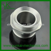 Hex nipple precision pipe fitting ,screwed pipe fitting,made of stainless steel
