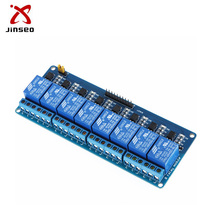 PCB modul 5 V DC 8 channel estafet papan kontrol elektronik