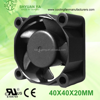 Low Watt 40mm High Pressure DC 12 Volt Blower Fan