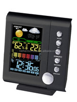 Clock with Colorful Screen Weather Station Led Radio Clock