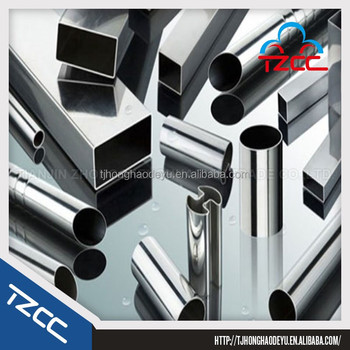 high polish S304 stainless steel pipe