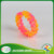 Swirled color waterproof braided cheapest silicone bracelets