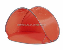 Sunshade user-friendly pop up beach tent as tortoise