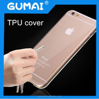 Hotest!!! TPU Soft cover For iPhone 6 case 4.7 inch Transparent clear for apple iphone 6 tup case