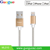 MFi certified nylon 8 pin usb cable for iphone 5 iPhone6 Sync and Charging cable from MFi factory
