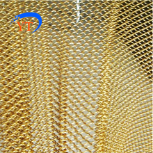 Gold aluminum alloy curtain/drapery factory