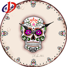 DH--C012 Home decoration custom concrete wall clock