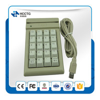 e-payment android tablet smart card reader pinpad Keypad with Slot Reader for Magnetic Stripe & Barcode-HCC810