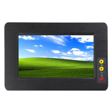 7 inch Touch Screen Industrial Embedded Panel PC with Intel Atom 2550 1.86GHZ