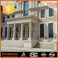 PFM exterior wall building material natural stone china stone exterior facade cladding