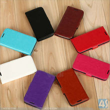 PU Leather Case Card Holder Flip Case Cover for Samsung s4 mini P-SAMI9190CASE017