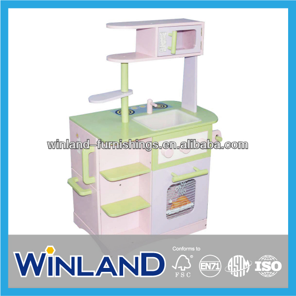 Pretend Play Creative Wooden Kitchen Toy