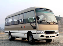 China New Updated Bus supplier for dongfeng 7m 24 seater coaster mini bus sale in 2016