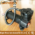 CE Approved 12V Portable Black Suspension Air Compressor For Car
