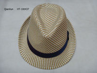 Summer Women Kentucky Derby Natural Straw Hat