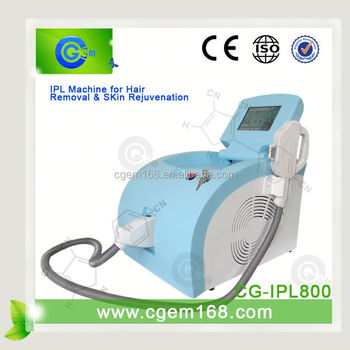 CG-IPL800 Newest most popular starlight ipl for wrinkle reduction and skin tighten