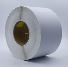 factory supplier 4X6 inch DT direct thermal transfer label sticker roll