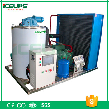 CE Approved 3tons flake ice machine supermarket use