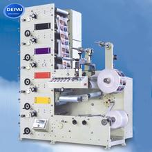 DEPAI flexographic flexo small label paper printing machine